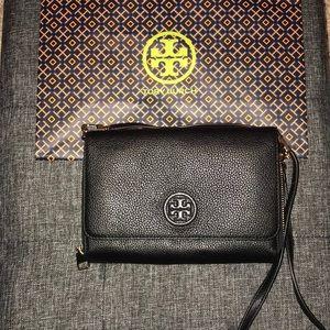 Tory Burch Leather Crossbody Wallet